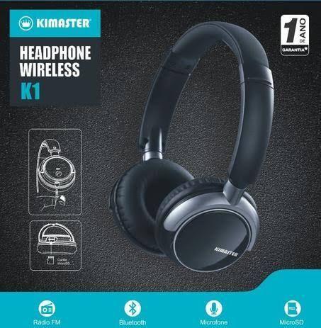 Fone sem fio Bluetooth Headphone - Foto 2