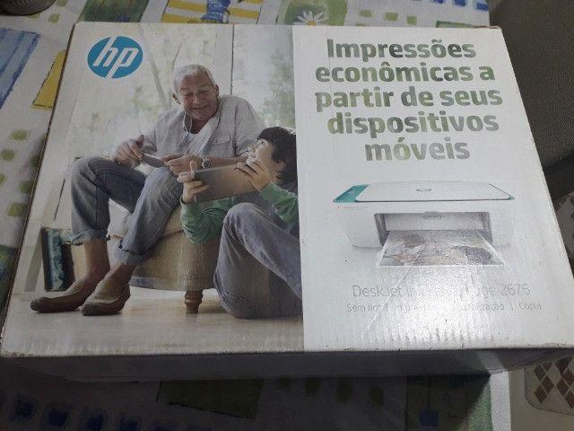 Multifuncional HP deskjet 2676 - Foto 4