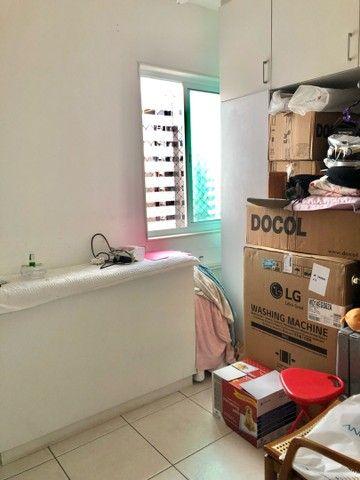 Apartamento com 3/4 completo de armários na ponta verde  - Foto 17