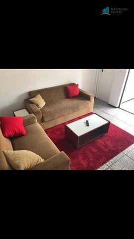 Flat com 1 dormitório para alugar, 52 m² por R$ 1.600,00/mês - Praia de Iracema - Fortalez - Foto 3