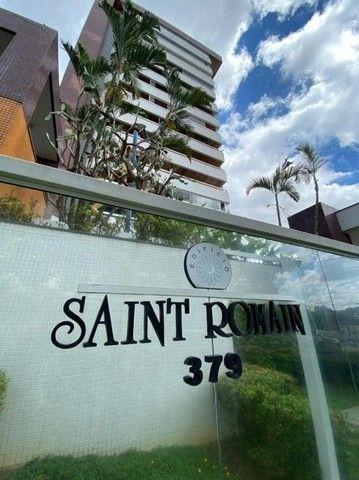 Condomínio Saint Romain, 4 suítes, 3 vagas, 100% mobiliado, moderno e lindo, no Vieiralves - Foto 6