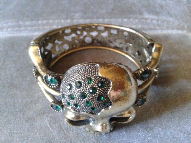 Bracelete de Caveira  - Foto 2