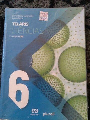 Livro telaris de ciências sexto ano