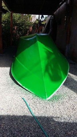 Barco batera bote lancha de fibra  - Foto 14