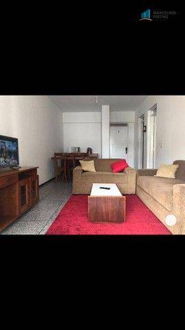 Flat com 1 dormitório para alugar, 52 m² por R$ 1.600,00/mês - Praia de Iracema - Fortalez - Foto 2