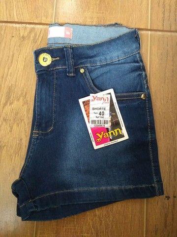 Bermuda fem jeans tamanho 40 - Foto 5