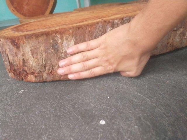 Tronco De Madeira Bruto Rústico - Foto 2