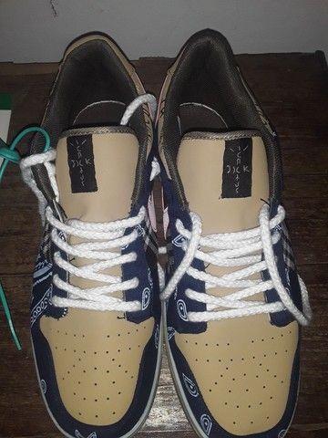 "Sneaker Dunk SB x Travis Scott ""Cactus Jack"" - Foto 3"