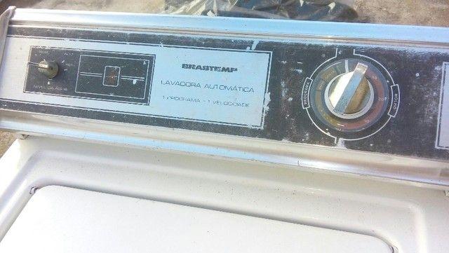 Máquina Lavar Brastemp Anos 80  - Foto 5