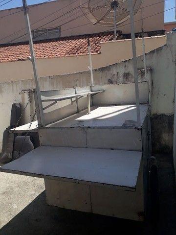 Freezer e carrinho de lanche a venda ou troca por moto