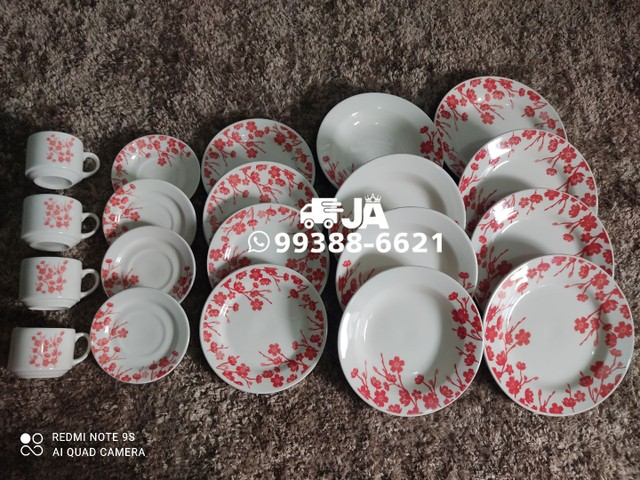 Aparelho de jantar todas as peças da foto em Cerâmica - Foto 2