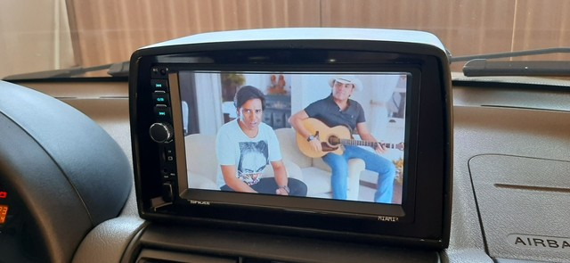 Central Multimídia MP5 Player Automotivo Casty Tech by Shutt Miami 2 Din Tela 7 Polegadas