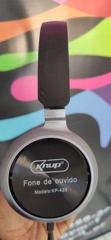 Headphone com microfone - Foto 3