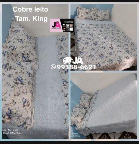Cobre Leito KING  - Foto 2
