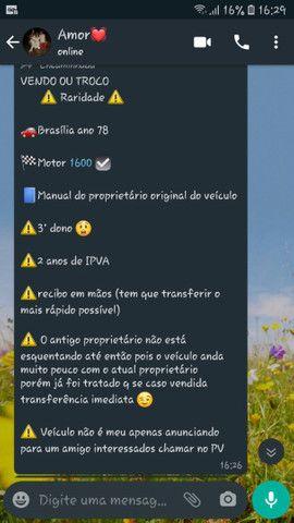 Brasilia 78 raridade  - Foto 5