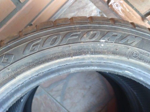 Vendo 2 pneus usados 195/50 r15 - Foto 3
