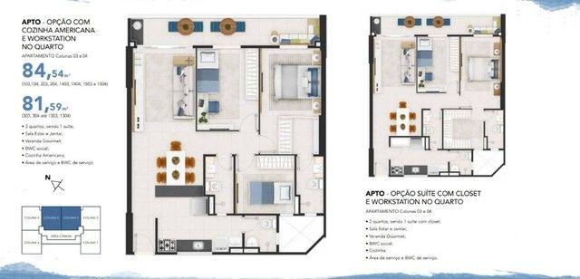 Mirante da Península - 3 qtos 90 m² - Localização nobre de São Luís MA
