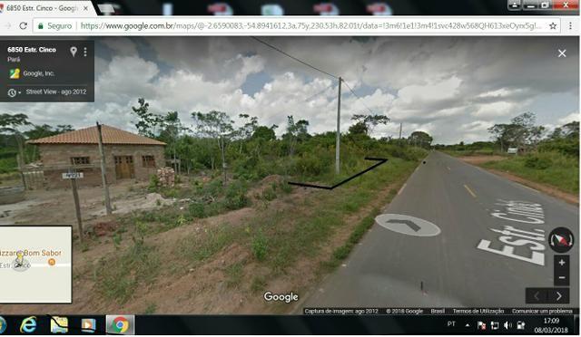Terreno em Belterra 20x100