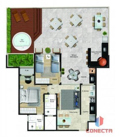 Apartamento para venda em vitória, jardim da penha, 2 dormitórios, 1 suíte, 2 banheiros, 1 - Foto 17