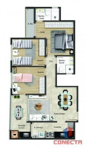Apartamento para venda em vitória, jardim da penha, 2 dormitórios, 1 suíte, 2 banheiros, 1 - Foto 19