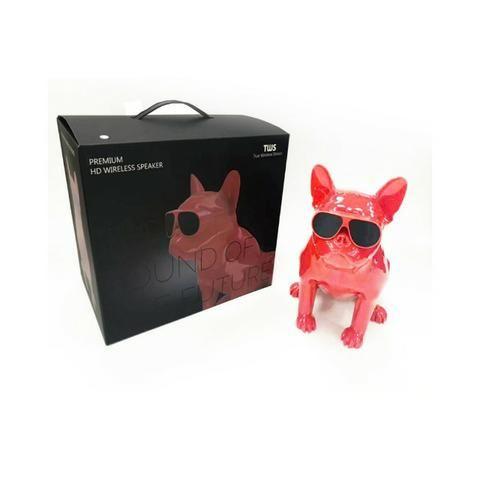 Caixa de Som Bluetooth Z13 Bulldog Francês Cachorro Portátil 10w Fm - Foto 6