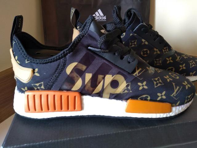 95388d30c Tênis Adidas Louis Vuitton Supreme Original !!! - Roupas e calçados ...