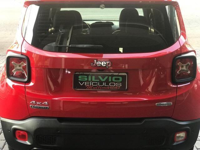 Jeep Renegade Londitude 2.0 Diesel Vermelho 2015 2016 - Foto 6