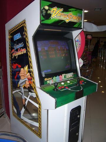 Máquina Fliperama Virtua Striker Simulador Original Sega - Foto 3