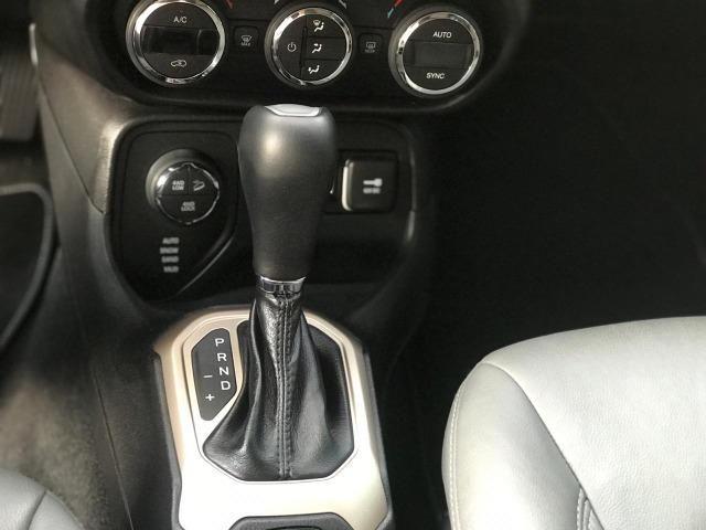Jeep Renegade Londitude 2.0 Diesel Vermelho 2015 2016 - Foto 14