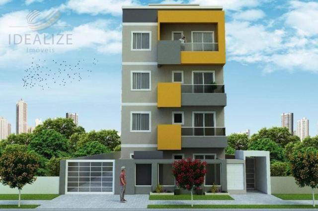 Apartamento à venda com 2 dormitórios em Cruzeiro, São josé dos pinhais cod:1927620 - Foto 2
