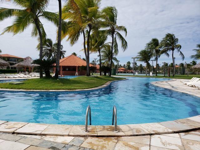 Apartamento a venda, no Aquaville resort em Fortaleza, segundo andar, NASCENTE