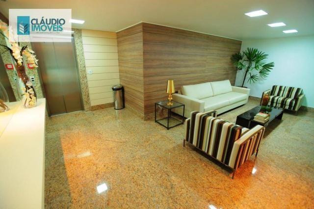 Apartamento com 3 dormitórios à venda, 83 m² por r$ 488.000 - jatiúca - maceió/al - Foto 3