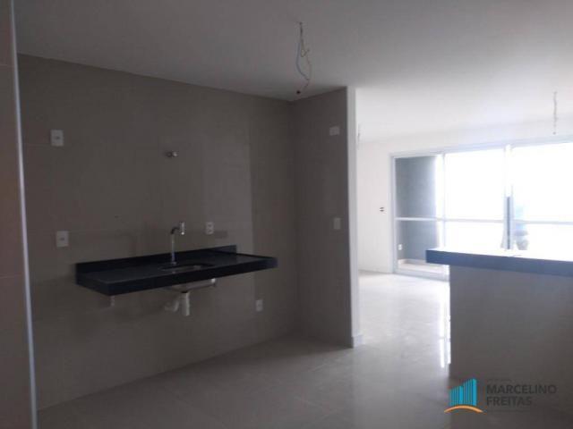 Apartamento com 3 dormitórios para alugar, 110 m² por r$ 2.079,00/mês - salinas - fortalez - Foto 10
