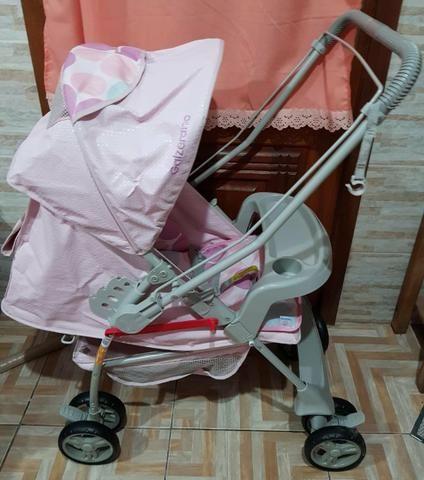 Carrinho de nenê praticamente zero - Foto 5