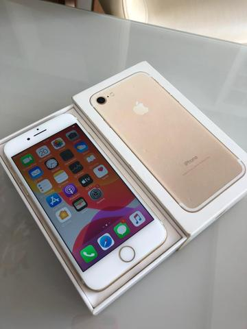 IPhone 7 128gb Dourado intacto semi-novo - Foto 2