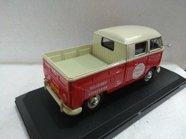 Miniatura Volkswagen Kombi Pickup Coca cola - Foto 4