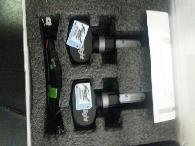 Led ultra led h3 schocklight nova na embalagem garantia instalado