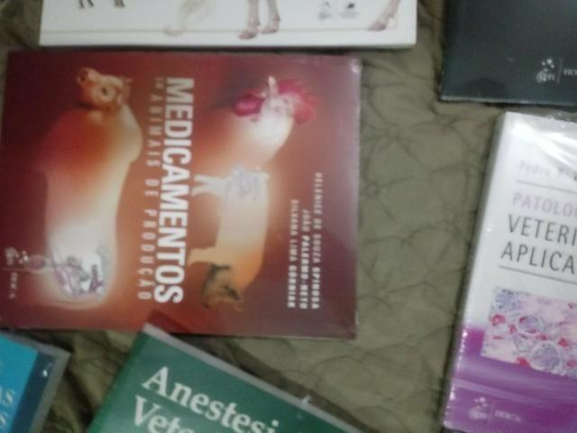 8 livros para formacao de veterinarios de grande e pequeno porte - Foto 3