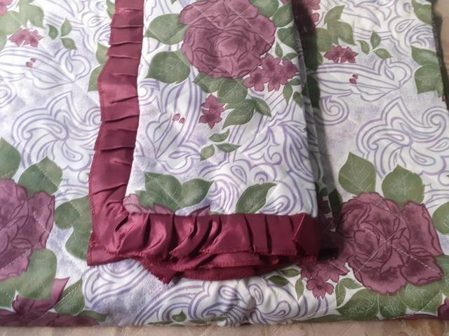 Colcha de cama de casal acolchoada - Foto 6