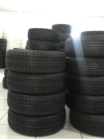 Nossos pneus tem garantia da loja /remold