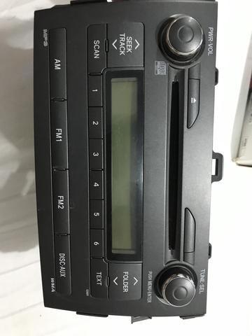 Aparelho de som original corolla 2010 - Foto 5