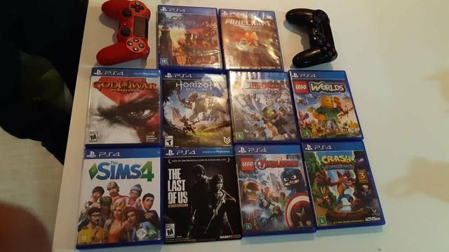 Ps4 2300,00 10 jogos - Foto 2