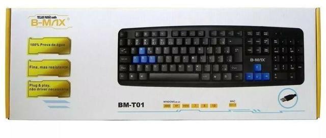 Teclado Padrão Gamer Com Fio B-max Bm-t01