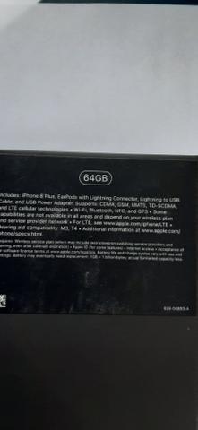 Vendo Iphone 8 plus novo na caixa, nunca usado - Foto 2
