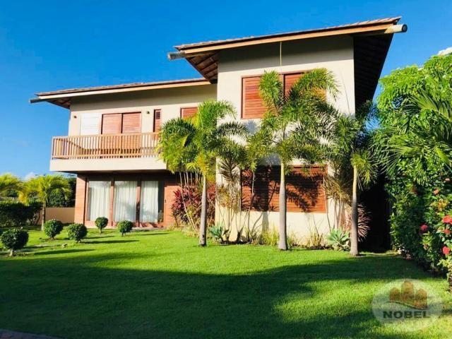Casa de condomínio à venda com 5 dormitórios em Praia do forte, Mata de são joão cod:5811