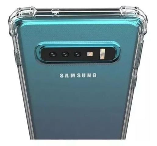 Capa de celular Anti Impacto Transparente Samsung e iPhone - Foto 4