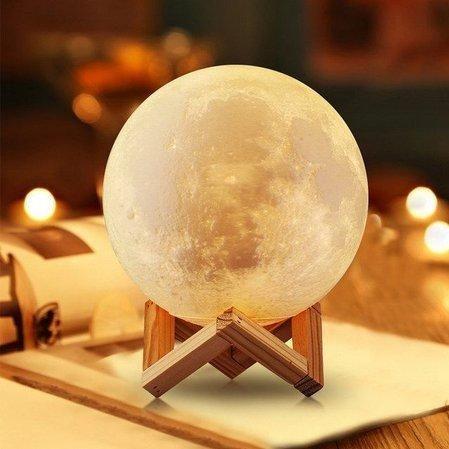 Luminária de Lua 3D - Foto 2