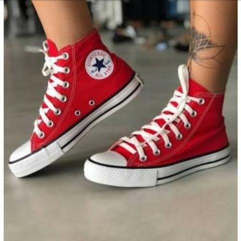 All Star Vermelho botinha