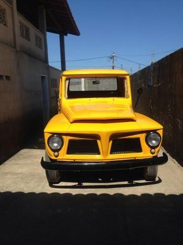 Ford F 75 Amarela - Foto 12