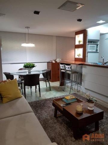 Apartamento quadra mar na Barra Sul, 2 dormitórios sendo 1 suíte, opção para 3º dormitório - Foto 18